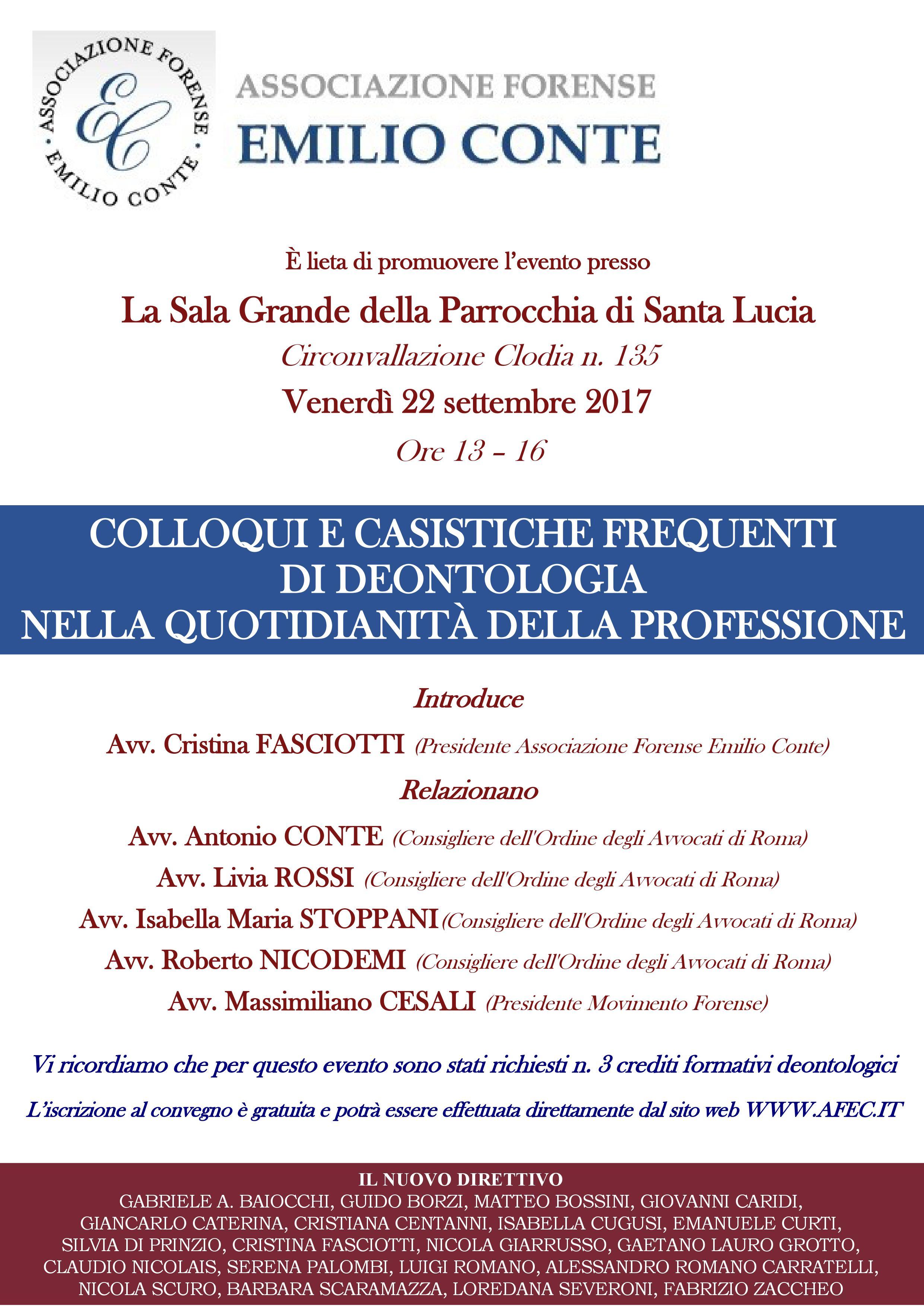 convegno deontologia 22-9-2017
